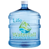 Life Waterfall Drinking Water